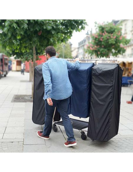 PROFI Rollständer 30500BW 230,00€ - Kleiderständer mit Rollen - mobiler Rollständer