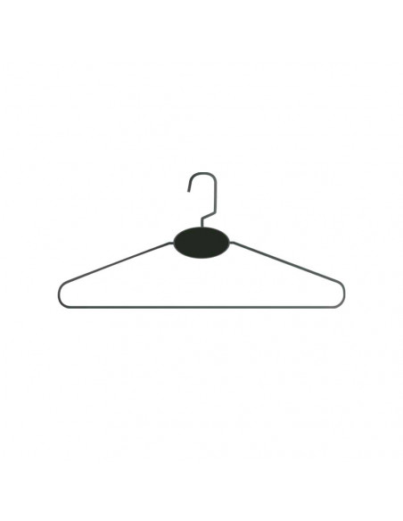 PACK OF 100 X 44CM WIRE HANGERS C0440W 91,00€ Quality and customizable Hangers for garment bags