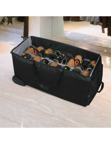 Proline - Divider for shoes  247,00€  Strong sample bags with wheels for salesforce of fashion industry