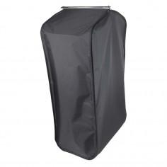 Schwarze Kleidersack mit...