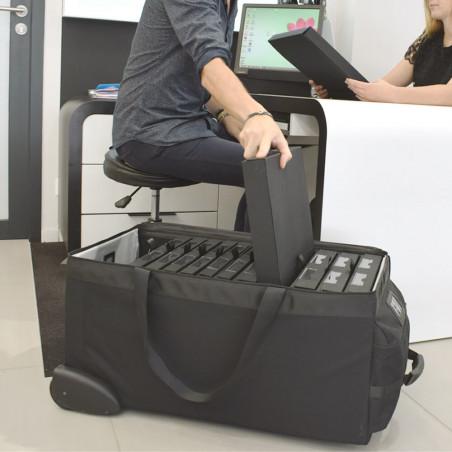 Proline-Koffer  Proline-Koffer Präsentationsschrank Brillen - Monturen transportieren für Mobile Optiker