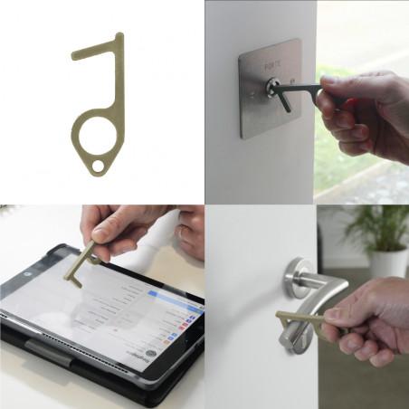 HYGIE TRAVEL KIT - Contactless safety door opener