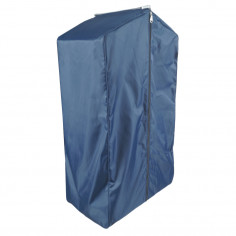 Blue garment bag with...
