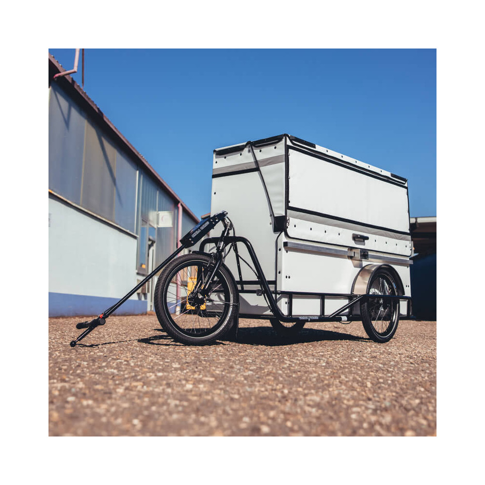 P-BOX - Light container for tricycles, scooters and cargo bicycles Last Mile Delivery Delivery-Lösungen