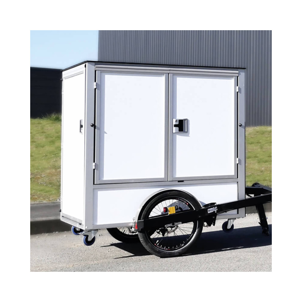 D-BOX : Robust and secured, the D-BOX can be adapted on any kind of vehicles (cargo bikes, scooters, trailers …) Last Mile De...