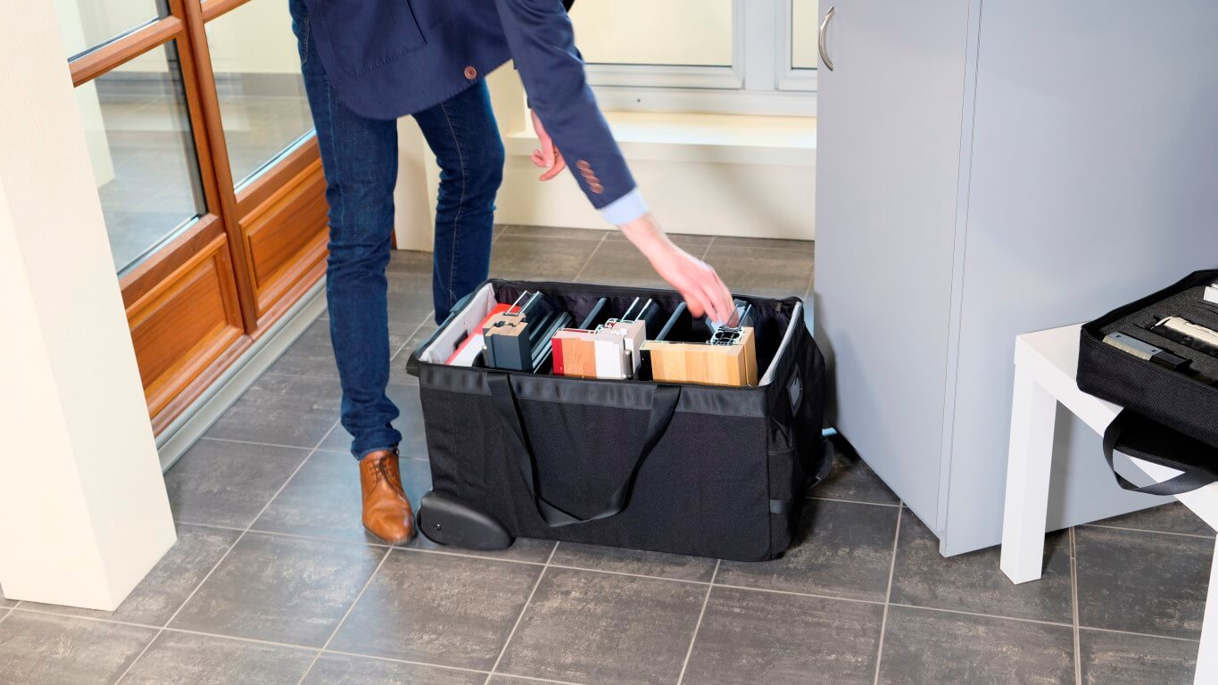 Bag to transport your samples