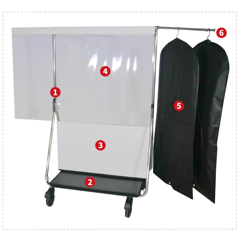 Hygie kit bag protection