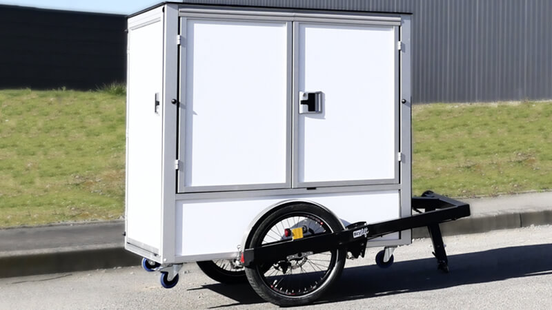 The P-BOX solution for last mile delivery