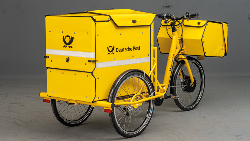 Designed for the cargo-bike manufacturer RYTLE that equip the DEUTSCHE POST.